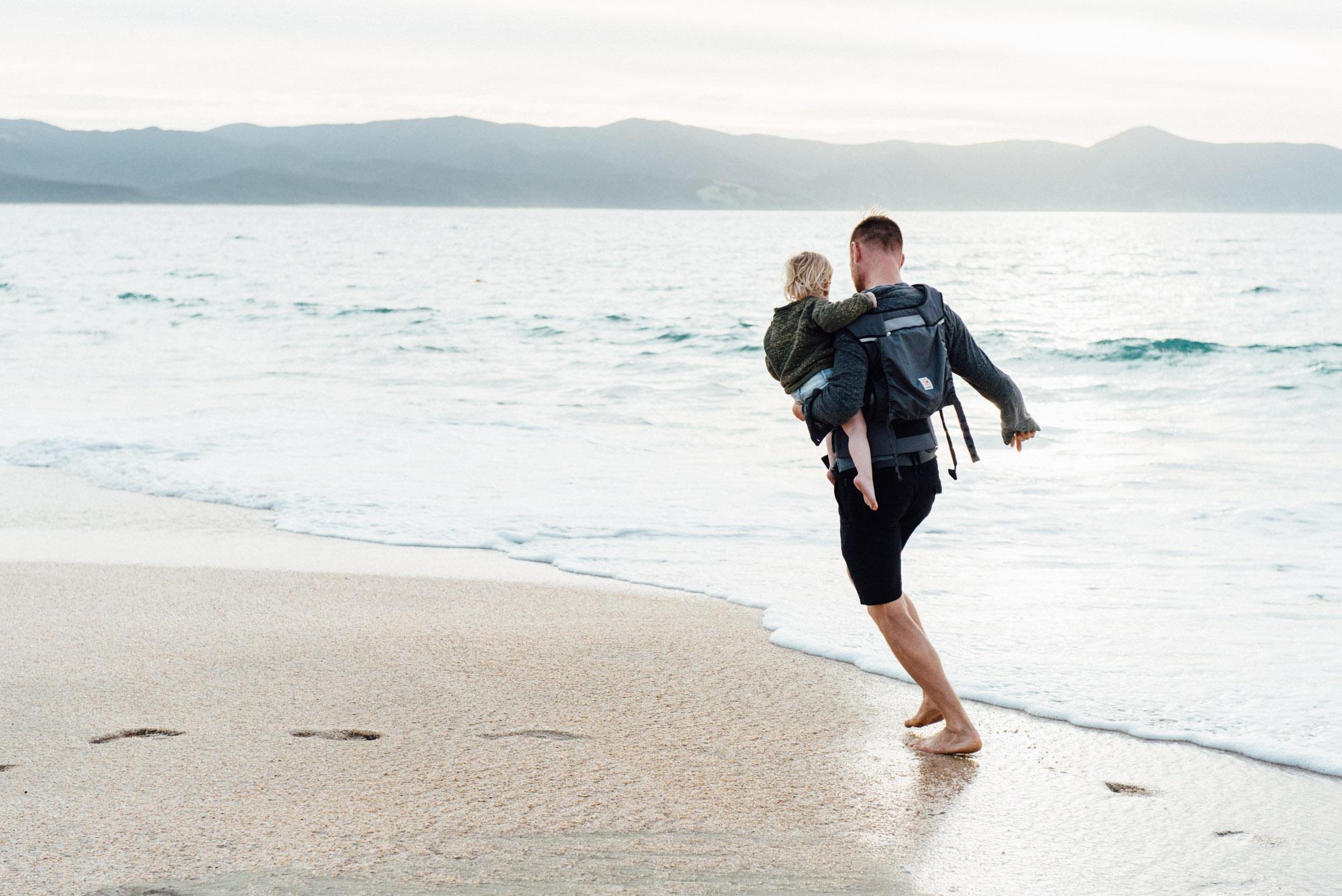 Familie shoot op het strand