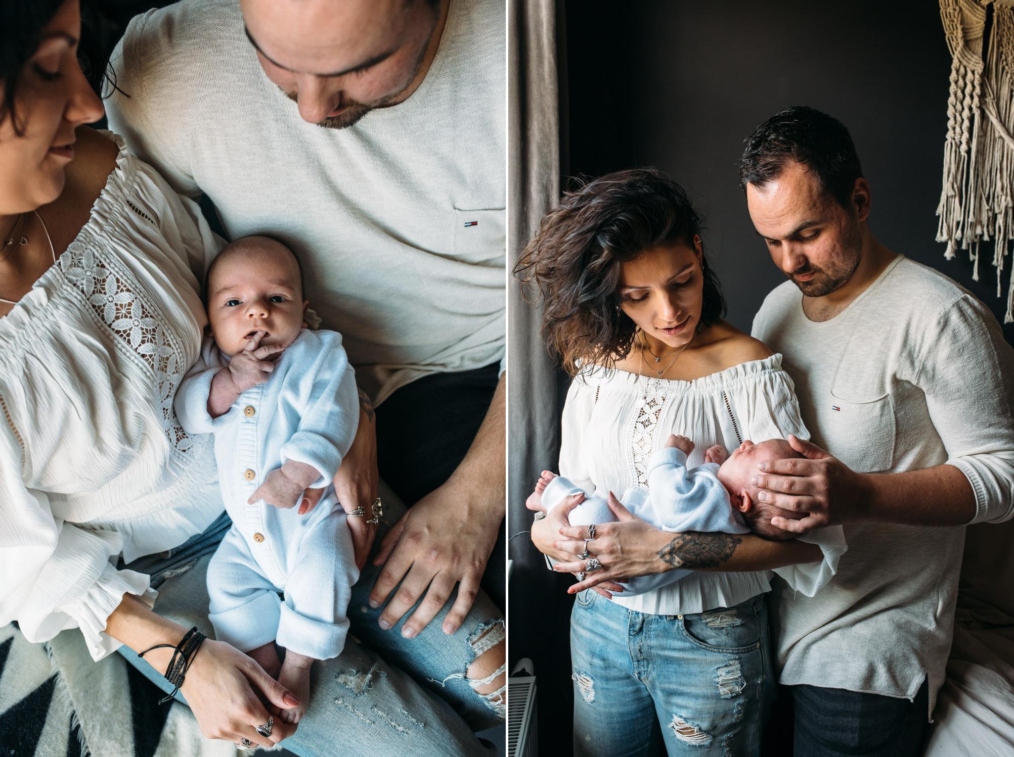 Lifestyle fotografie newborn shoot baby shoot in Putten Zeist en Utrecht